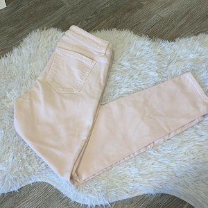 Michael Kors Skinny Jeans Pink Stretch Size 2